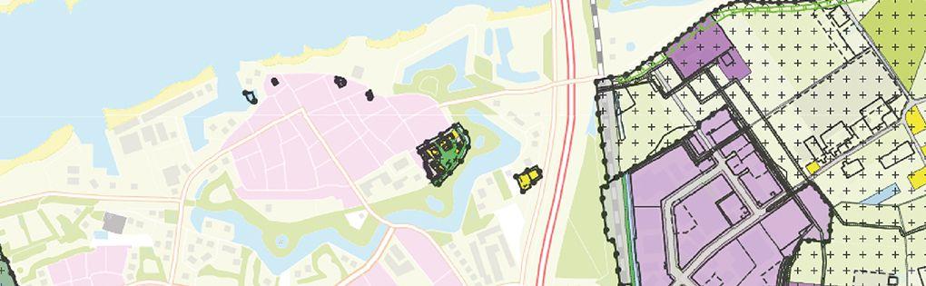 bestemmingsplan kaart afbeelding